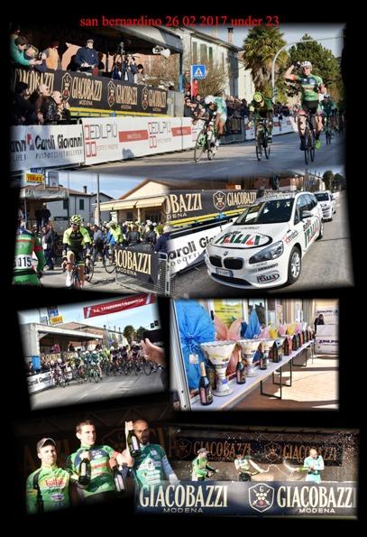 """Giacobazzi-Modena, Sponsor del Giro d'Italia U23 (Fotocomposizione di Armando Tosatti - """"Armanden"""""""