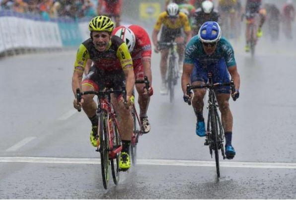 Mareczko vince sua seconda tappa al Langkawi sullo statunitense e su Andrea Palini