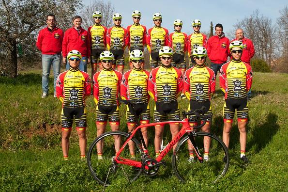 "Juniores, squadra ""£Pitti Shoes-Cicli Taddei"""