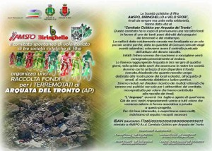 31.03.2017 - RACCOLTA FONDI PER ARQUATA DEL TRONTO