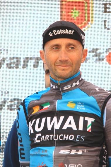 Davide Rebellin unico corridore Italiano in gara (Fotoservizio di Jean Claude Faucher)