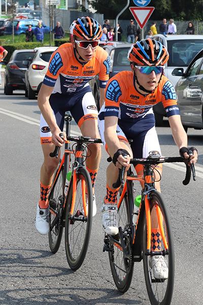 Francesco Galimberti e Andrea Piccolo, anche oggi fuga a due (Foto Kia)