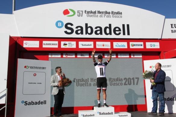 Matthees sul podio (Foto Jean Claude Faucher)