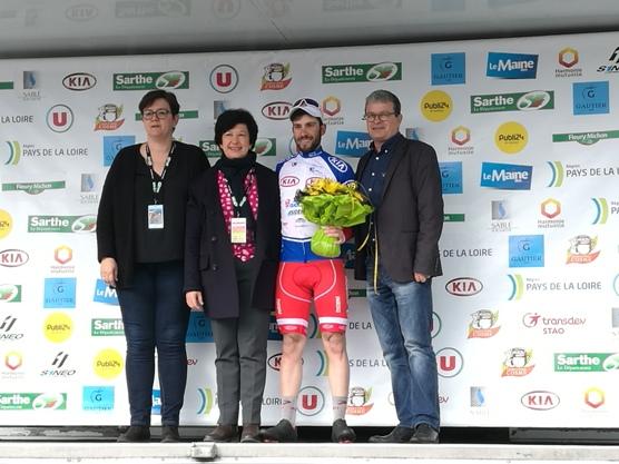 Andrea Vendrame, Podio a La Sarthe