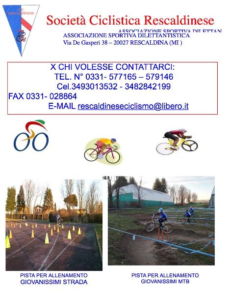 04.04.2017 - Locandina invito pratica ciclismo agonistico