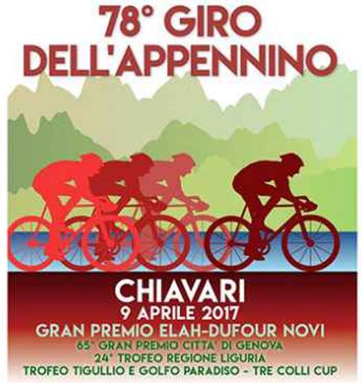 04.04.2017 - locandina 78^ Giro dell'Appennino