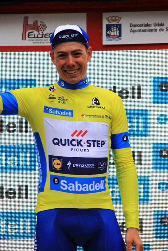 De La Cruz in maglia gialla (Jean Claude Faucher)