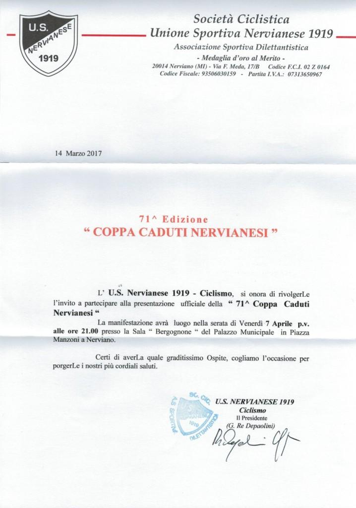 05.04.2017 - Invito presentazione Coppa Caduti