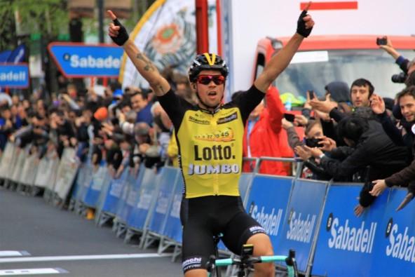 Primoz Roglic vince 4^ tappa Vuelta Ciclista a Pays Vasco (Foto Jean Claude Faucher)