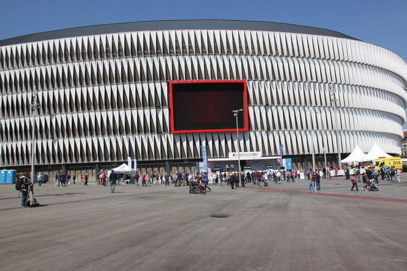 Lo stadio sede del ritrovo (Foto JC Faucher)