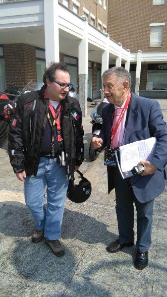 Il Giudice di gara FCI, Valerio Arosio (Foto Kia)