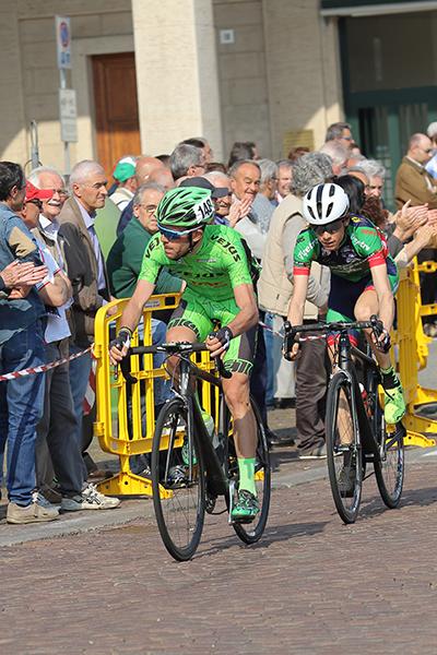 La fuga di Filippo Castaldo e Alberto Amici (Foto Kia)