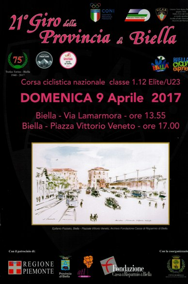 09.04.2017 - Brochure 21^ Giro Provincia Biella