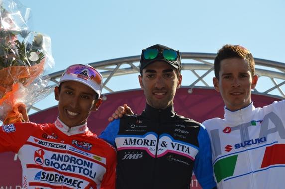 da sx, Bernal, Celano e Senni (Foto Claudio Mollero)