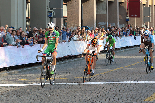 Luca Raggio vince a Biella (Foto Kia)