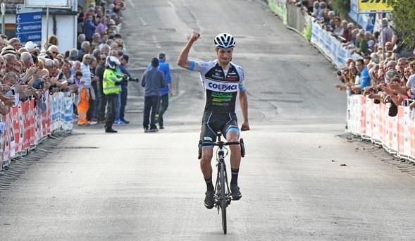 Seid Lizde vince a Mercatale (Foto Rodella)