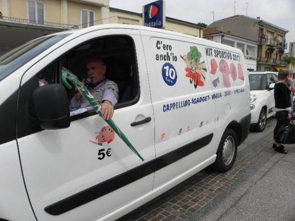 Vincenzo Errichiello Uomo della Carovana del Ciclismo (Foto Nastasi)