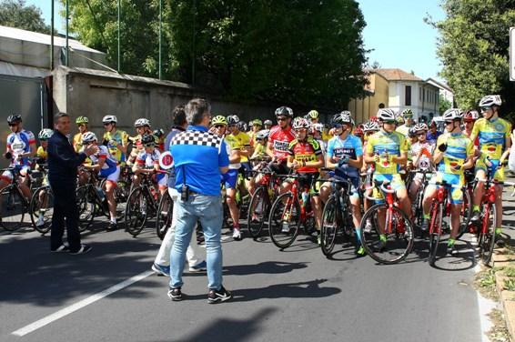 Omaggio alla Memoria dello sfortunatissimo Michele Scarponi (Foto Berry)
