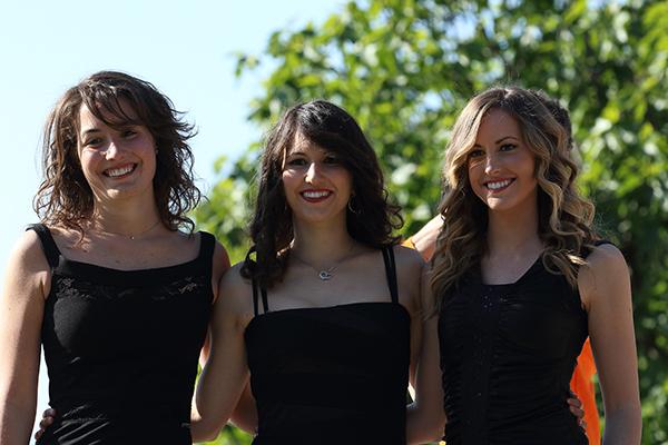 Le tre Miss (Foto Kia)