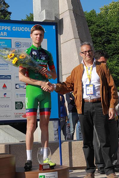 Premiazione di Vlasov (Foto Kia)