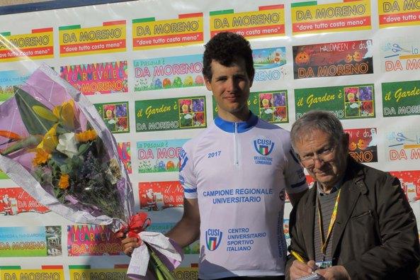 Samuele Bianchi, campione Regiocale Universitari, U23 (Foto Di Nastasi)