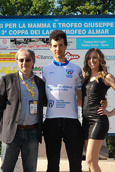 Samuele Bianchi neo campione regionale lombardo U23-Universistari (Foto Kia)