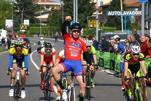 Costa Pellicciari Nicolo^ vince gara unica ad Albano (Foto Berry)