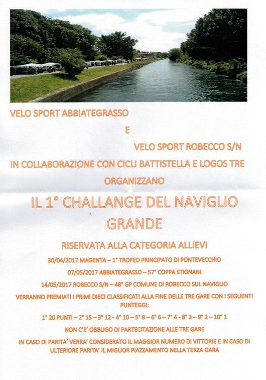 30.04.2017 - CHALLANGE DEL NAVIGLIO - LOCANDINA