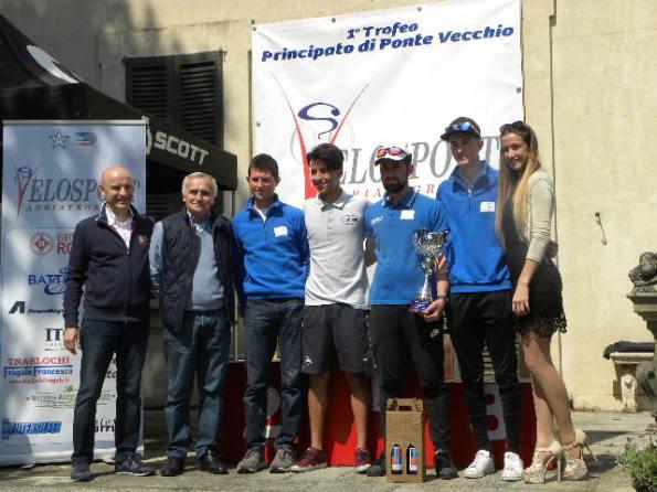 GS Bareggese col vincitore Mahracha (Foto Nastasi)