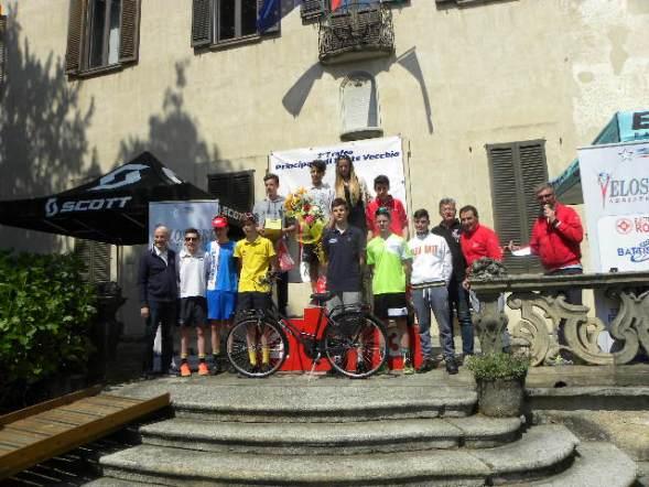 I primi 10 classificati a Pontevecchio di Magenta (Foto Nastasi)