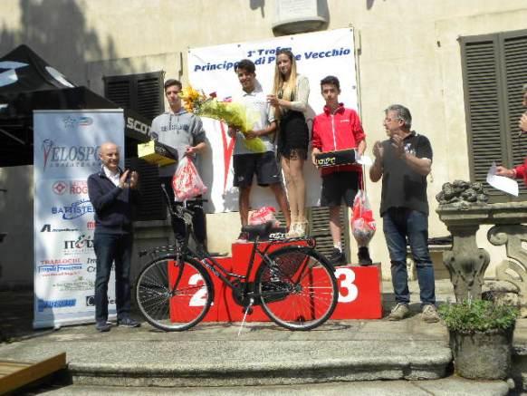 Podio del 1^ Trofeo Prinicpato di Pontevecchio (Foto Nastasi)
