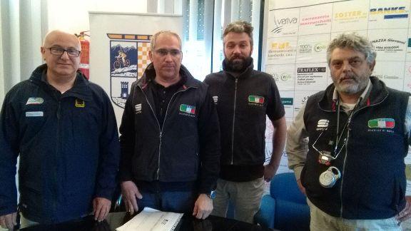 Da sx Maffi, Bertani, Caregnato e Gui (Foto Nastasi)