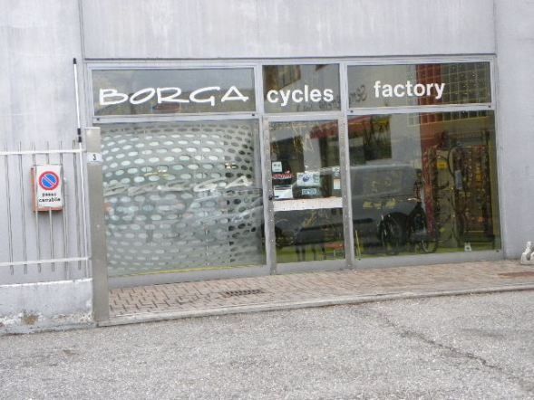 La sede della Cicli Borga (Nastasi)