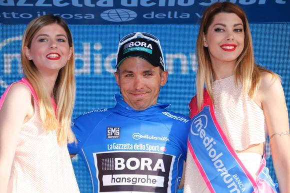 Cesare Benedetti primo leader GPM Giro100 (photobicicailotto)