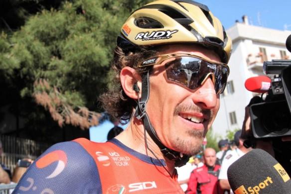 Franco Pelizzotti festeggiato per la nascita del 3° figlio (JC Faucher)