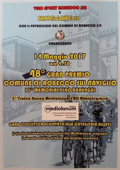 14.05.17 - LOCANDINA 48^ GP COMUNE ROBECCO