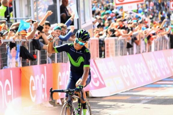 Quintana soddisfatto all'arrivo (Foto JC Faucher9
