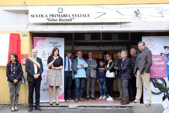Scuola intitolata a Gino Bartali (Foto Romano Pezzi)