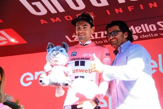 Dumoulin e Alberto Tomba (Foto JC Faucher)