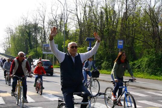 L'ex sindaco Gasparri ...credeva di avere vinto....(Foto Nastasi)