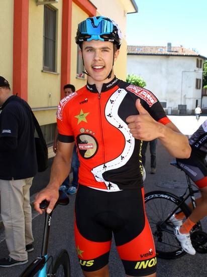 Federico Arioli vincitore a Rogeno (Berry)