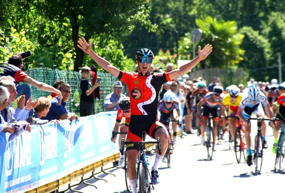 Arioli vince a Rogeno (Foto Berry)