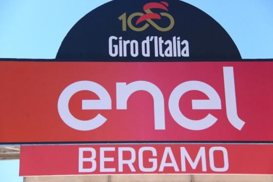 Tabellone arrivo Bergamo (Foto JC Faucher)