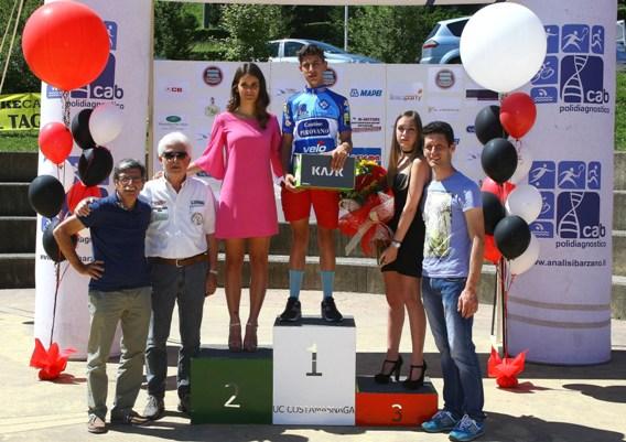 Matteo Giubilo neo campione provinciale Lecco Allievi (Foto Berry)