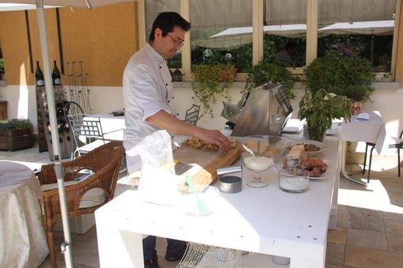 22.05.2017 – Clusone (Bergamo) – Giro d'Italia 100° Edizione : Giornata di riposo dedicata al Turismo, all'Arte e alla Buona Cucina dello Chef Matteo Teli