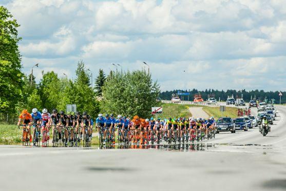 Fase di corsa edizione 2016 Tour of Estonia