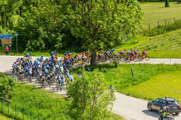 Fase di gara Tour Of Estonia 2016