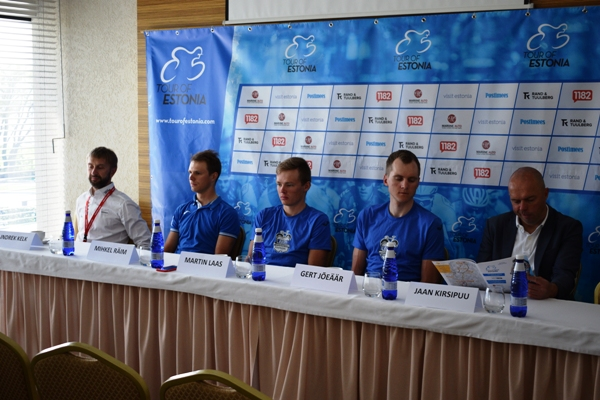 Conferenza Stampa Tour Of Estonia