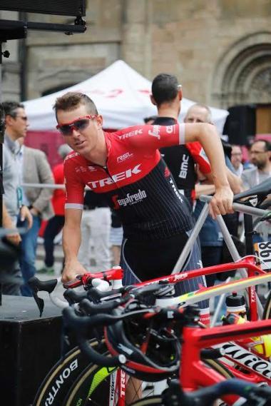 Peter Stetina impegnato al Giro100