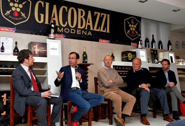 De Luca, Cassani, Vigna e Ronchetti (Foto Armanden)